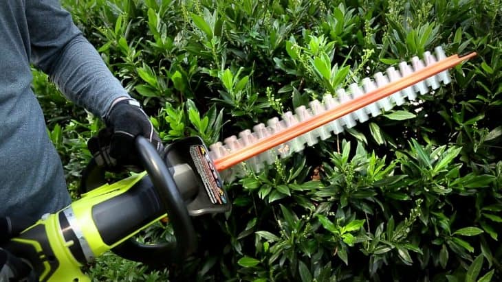 ryobi electric hedge trimmer review