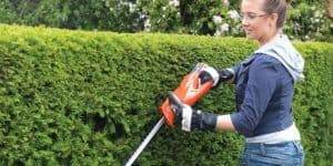 Electric or Battery Powered Hedge Trimmer