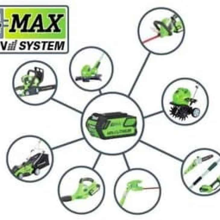 GreenWorks G-MAX 20312 40V battery system