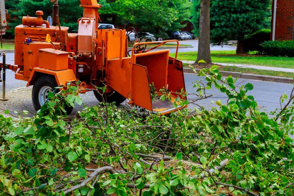 renting a wood chipper