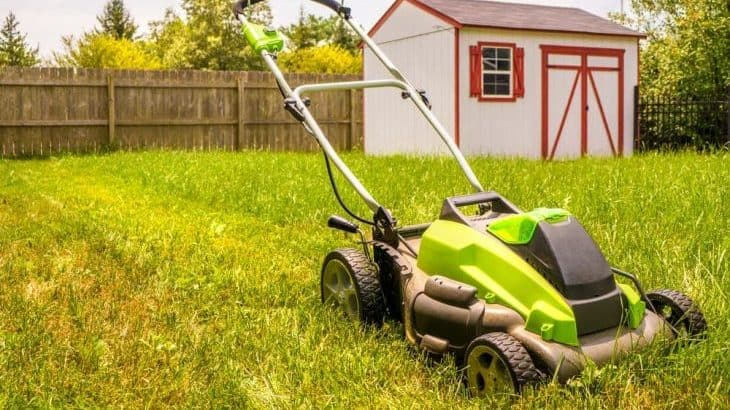 high end battery powered lawn mowers