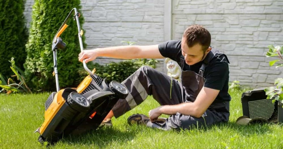 lawn mower not starting
