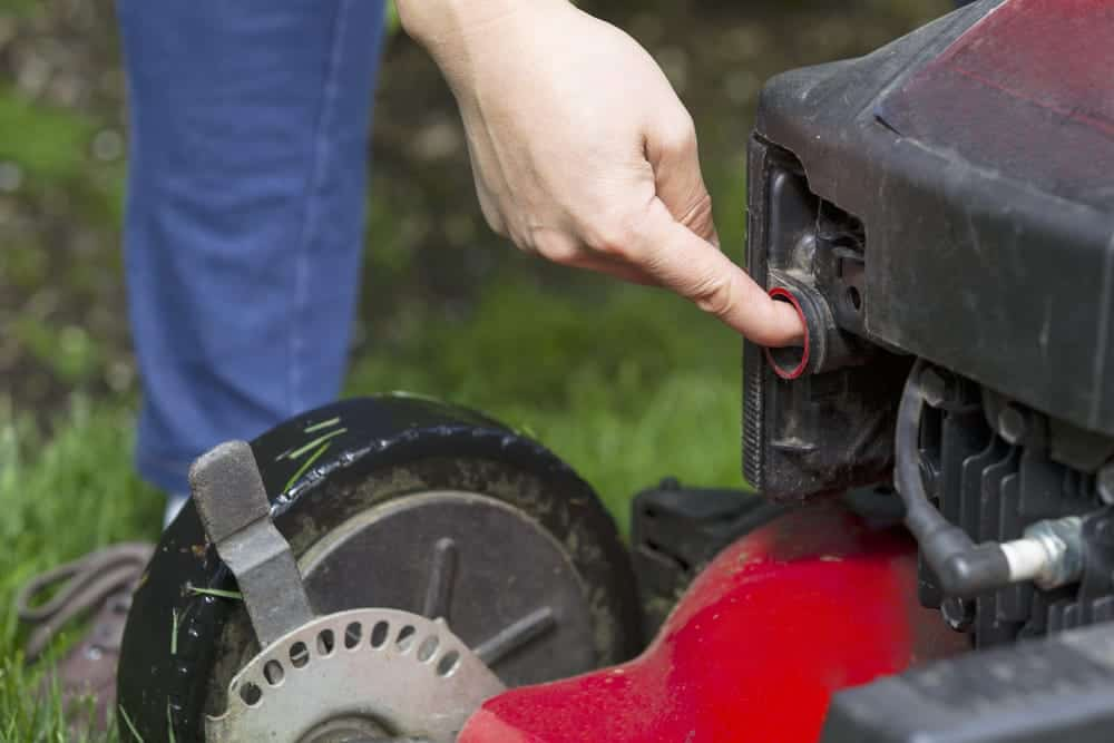 lawn mower fuel pump