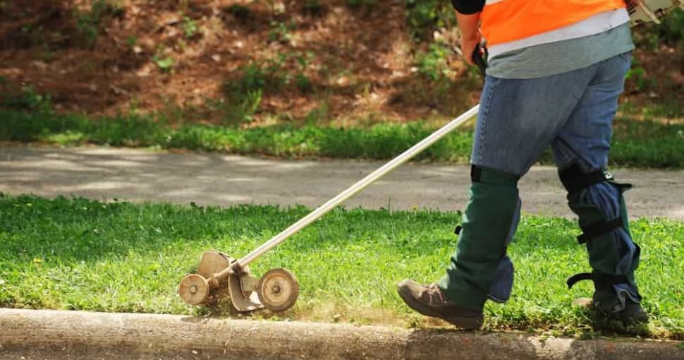 edge your lawn like a pro