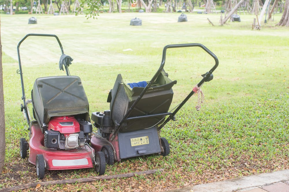 buying a commercial lawn mower as a home owner