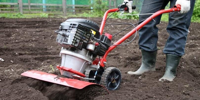 benefits of using a garden tiller