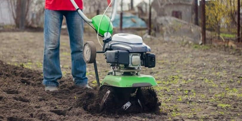most common garden tiller types