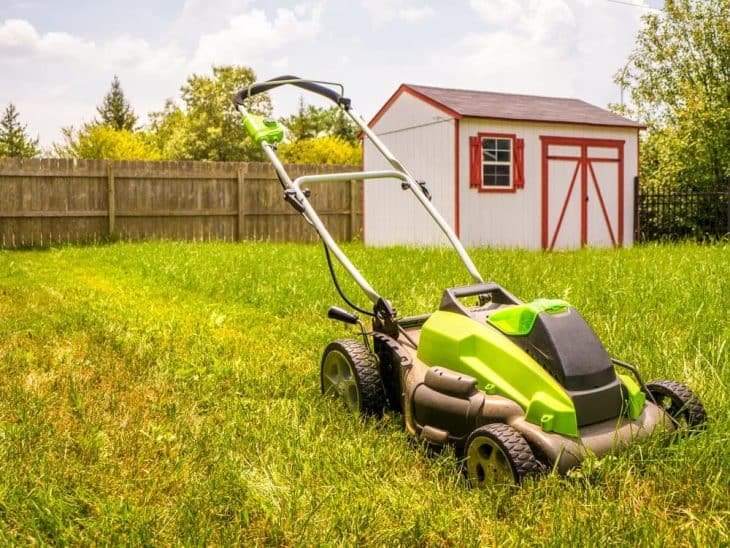 best rated battery operated lawn mower