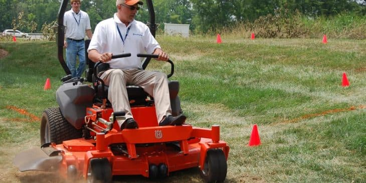 husqvarna zero turn lawn mower demo day