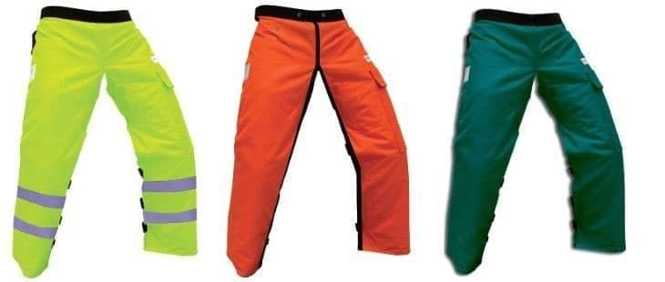 forester chainsaw chaps colors