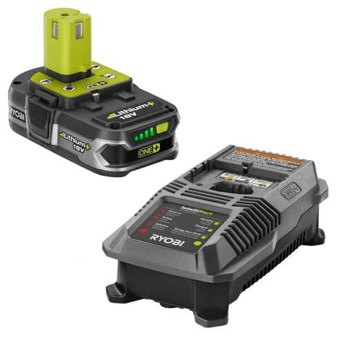 ryobi 18 volt battery and charger