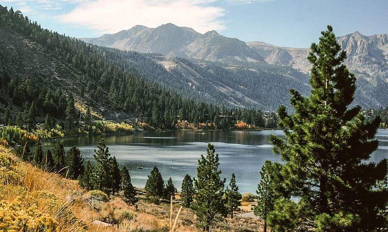 Picture Lake at the Mt. Baker Ski Area Washington State