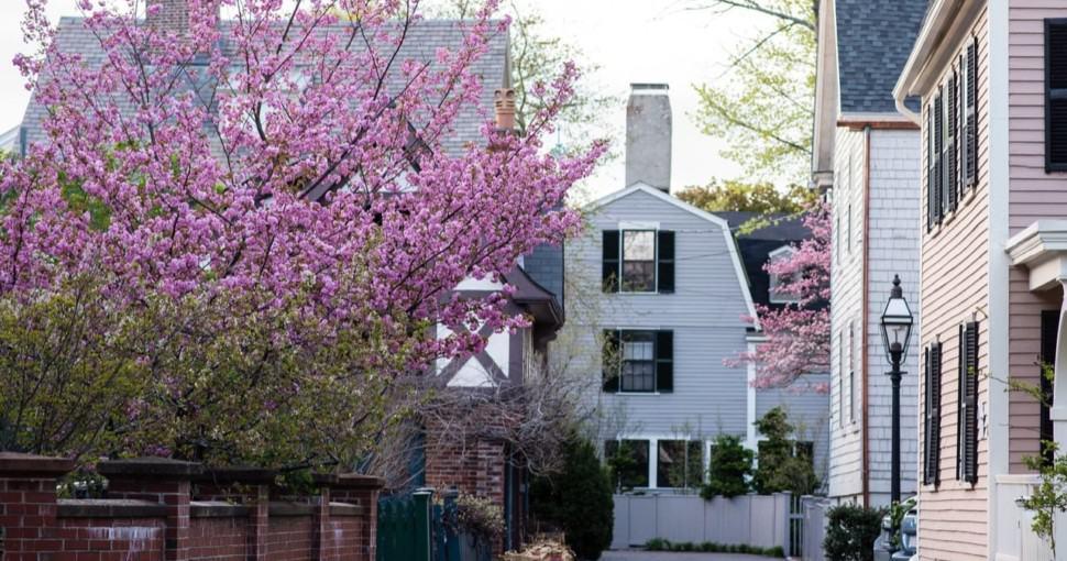 Spring in Salem Massachusetts