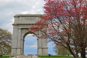 Valley Forge National Historical Park in Pennsylvania USA