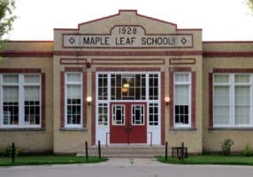 Maple Leaf Public School Morden Manitoba